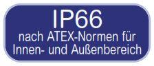 Atex zertifiziert