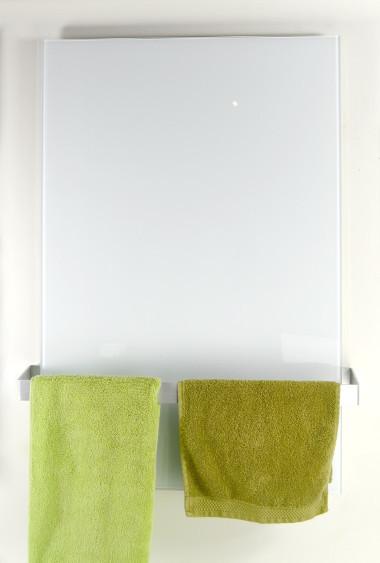 set ecoheat vetro infrarotheizung handtuchhalter. Black Bedroom Furniture Sets. Home Design Ideas