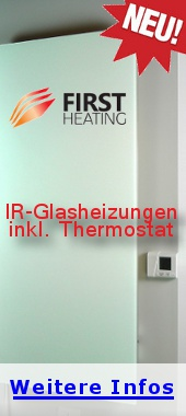 first heating glasheizungen