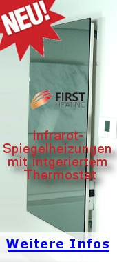 first heating spiegelheizungen