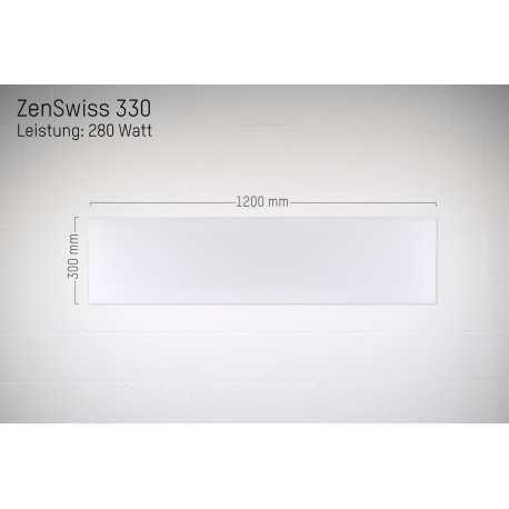 ZenSwiss Deluxe 330 F (280 W / 30 x 120 cm)