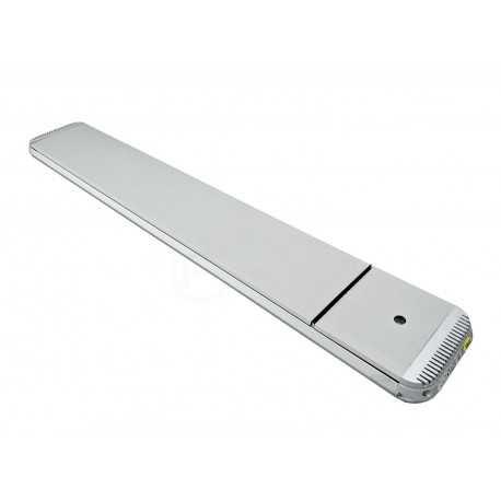 HeatBAR Deluxe Silber 1800W