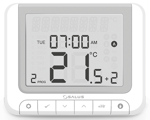Salus RT520RFWE Thermostat